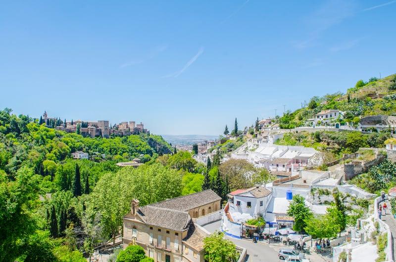 Sacromonte Mağaraları Granada