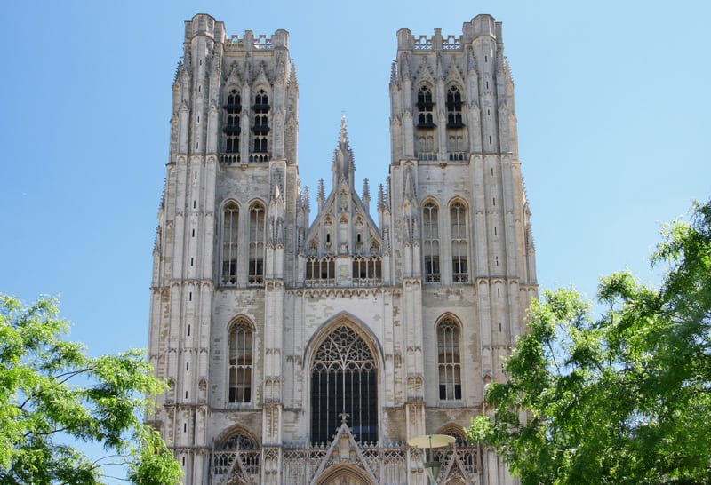 St Michael ve St Gudula Katedrali
