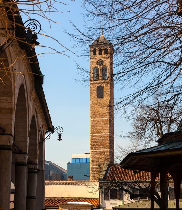 Saat Kulesi Saraybosna Gezilecek Yerler