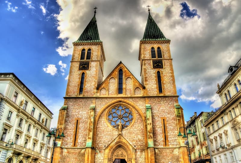 Saraybosna Katedrali (Sarajevo Sacred Heart Cathedral)