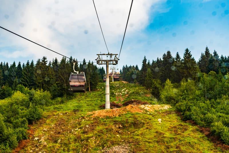 Trebevic Dağı ve Teleferik Yolculuğu
