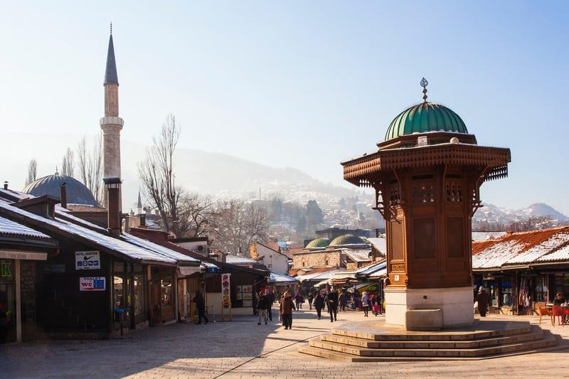 Sebil - Saraybosna Gezilecek Yerler