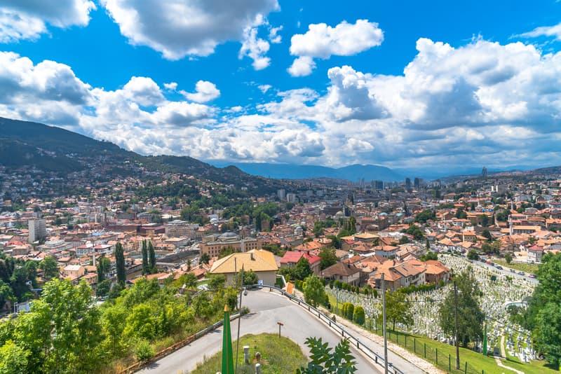 Žuta Tabija (Sarı Kale) Manzarası