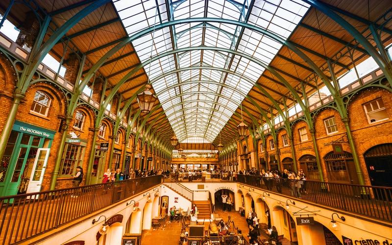 Covent Garden - Londra Gezilecek Yerler Blog
