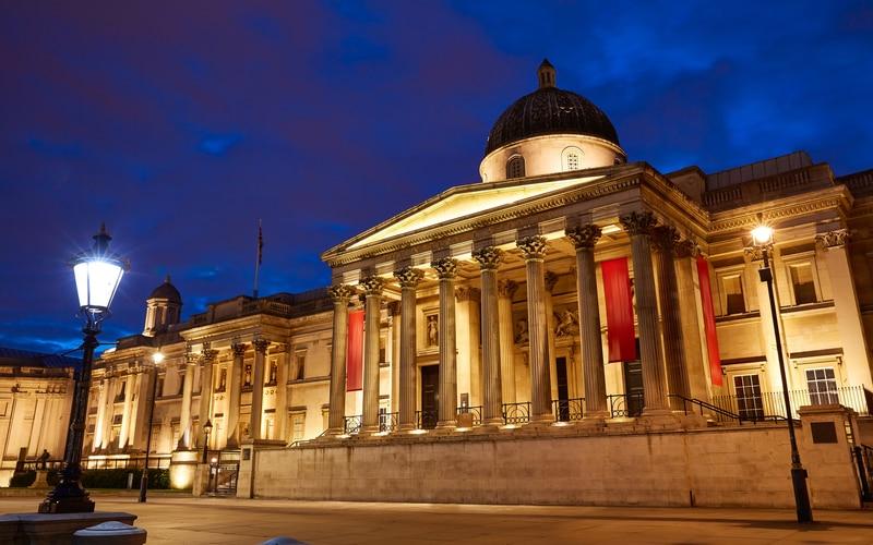 National Gallery - (Londra Ulusal Galerisi)