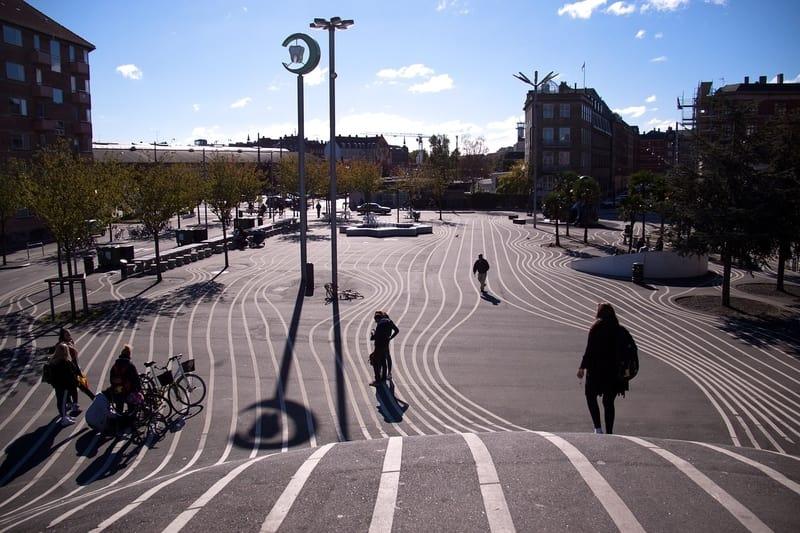 Norrebro Bölgesi Kopenhag
