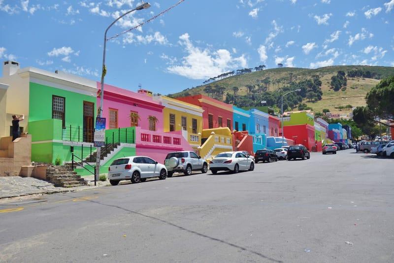Bo Kaap Bölgesi Cape Town