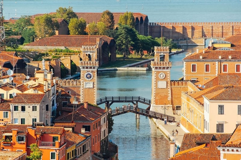 Venedik Castello Bölgesi