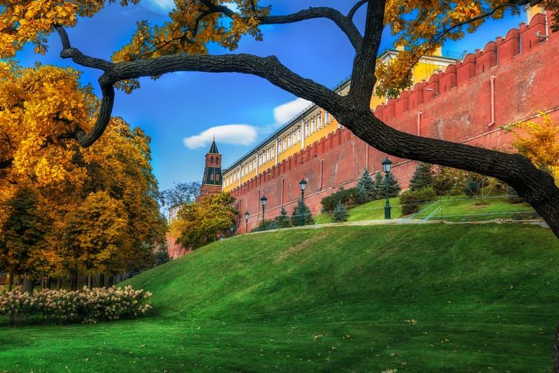 Alexander Bahçesi Moskova