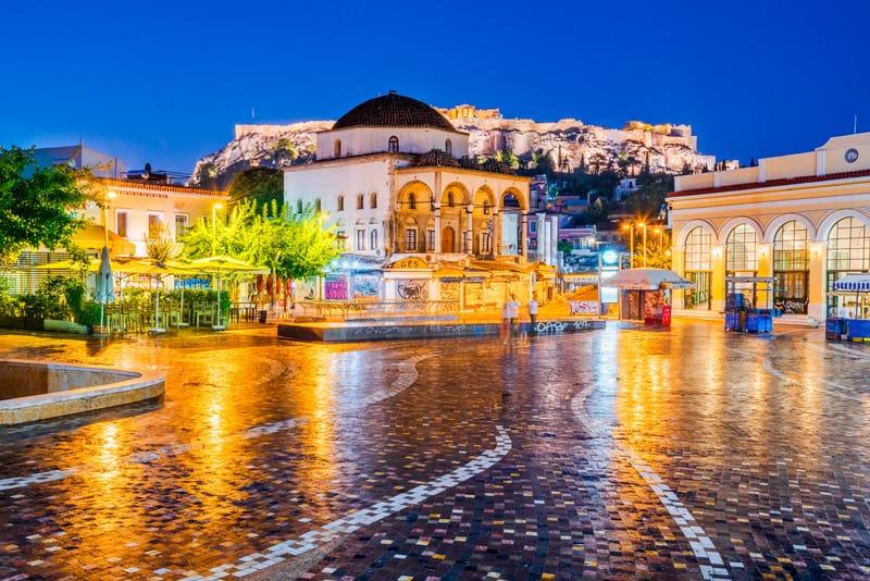 Monastiraki Meydanı - Atina