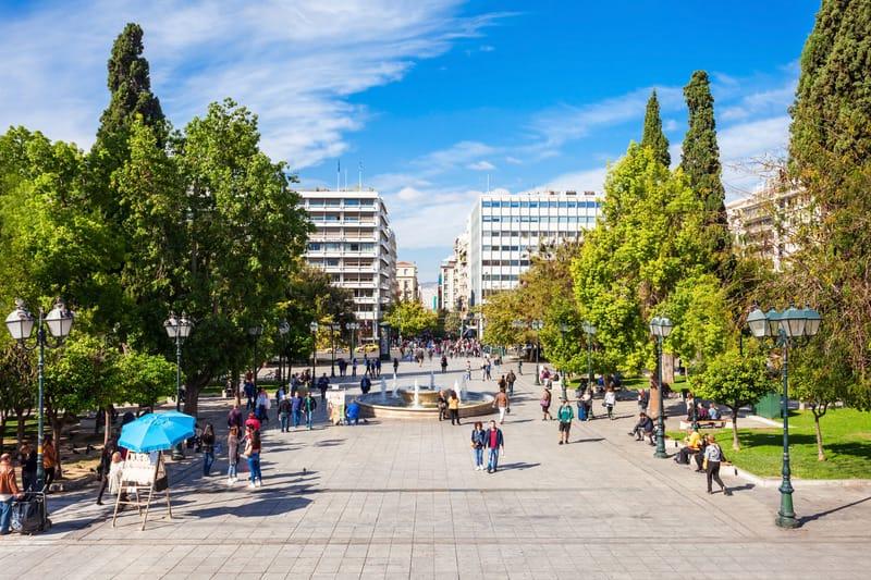 Syntagma Bölgesi Atina