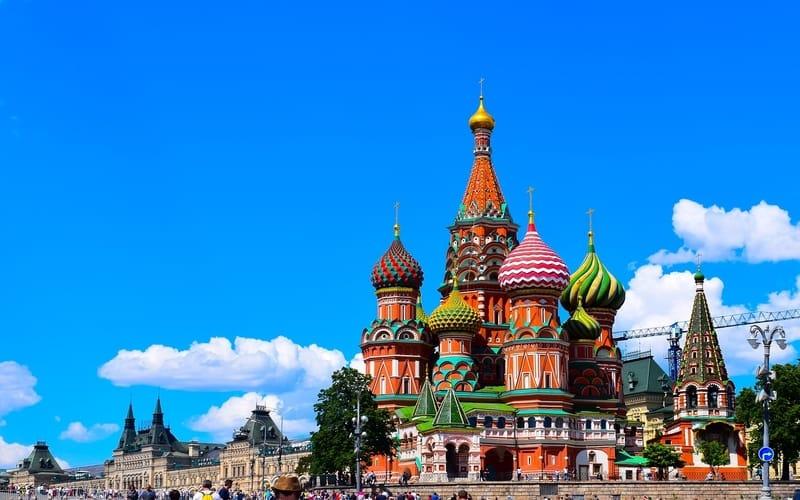 Rengarenk Yapısı İle Aziz Vasil Katedrali