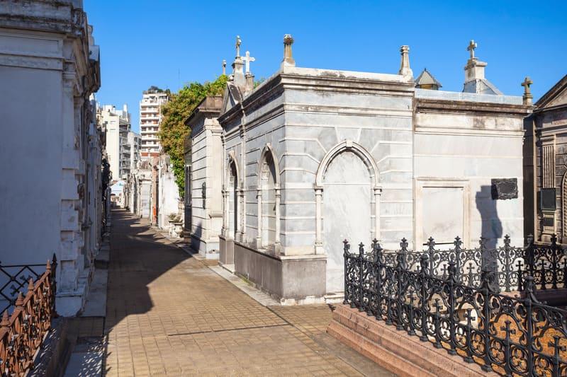 Recoleta Mezarlığı Buenos Aires