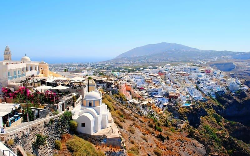 Santorini'de en güzel bölgeler