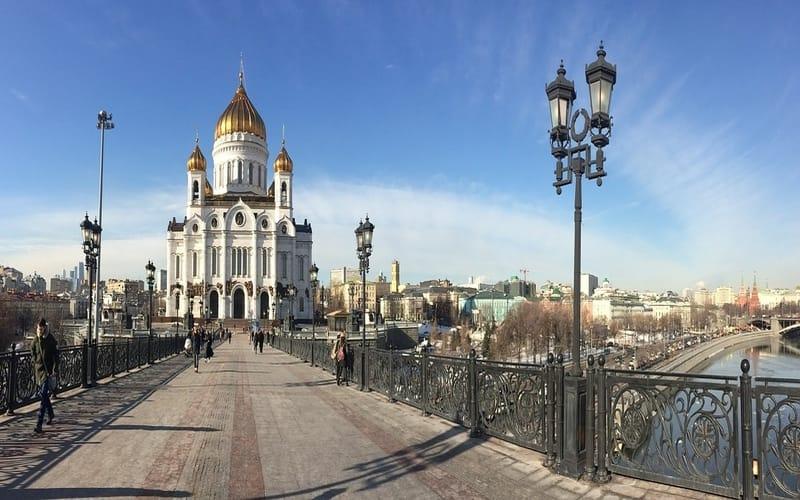 Moskova Cathetral of Christ the Savior