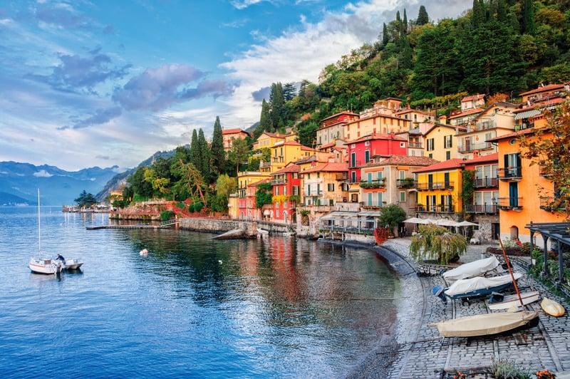 Menaggio Bölgesi - Como Bölgesi - Como Gölü'nde Nerede Kalınır
