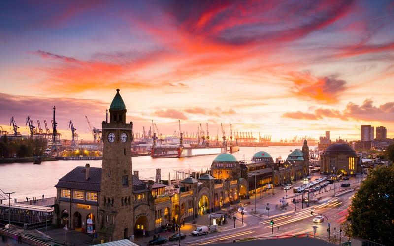 St Pauli Bölgesi Hamburg