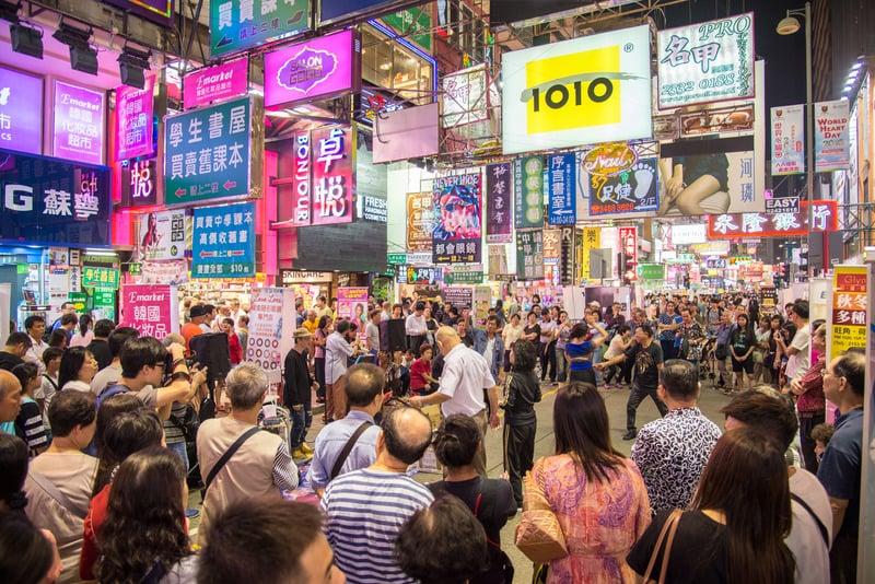 Mong Kok Hong Kong'da Nerede Kalınır ?