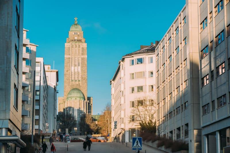 Kallio Bölgesi - Helsinki