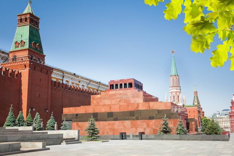 Lenin'in Mozolesi Moskova