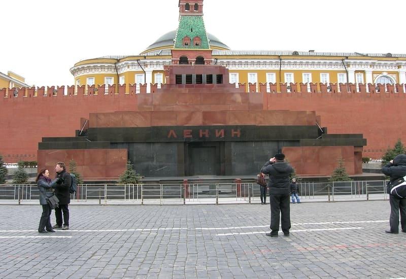 Moskova Lenin'in Mozolesi