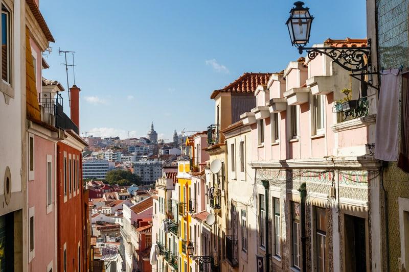 Bairro Alto Bölgesi - Lizbon