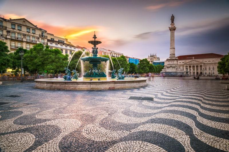 Lizbon'da Nerede Kalınır ? - Lizbon Meydanı