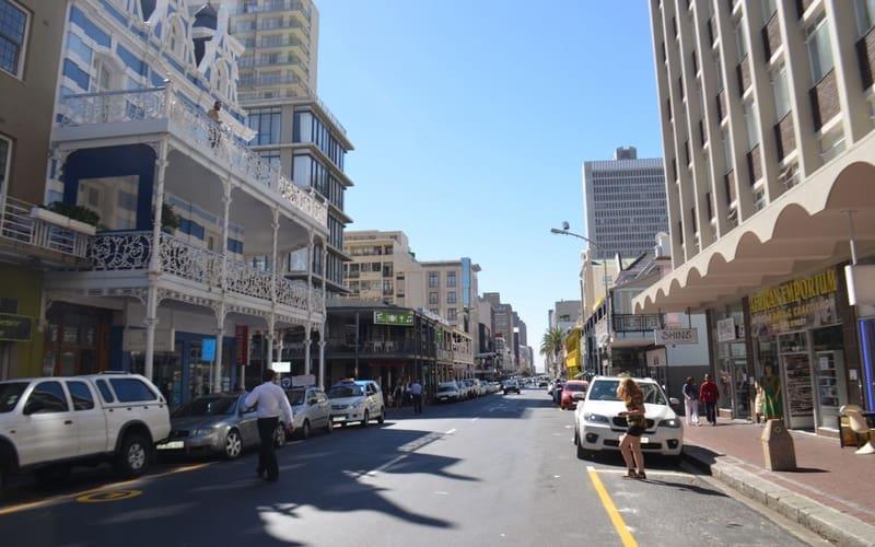 Long Street - Cape Town Gezilecek Yerler