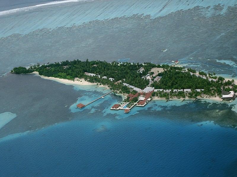 Hulhumale Adası Maldivler