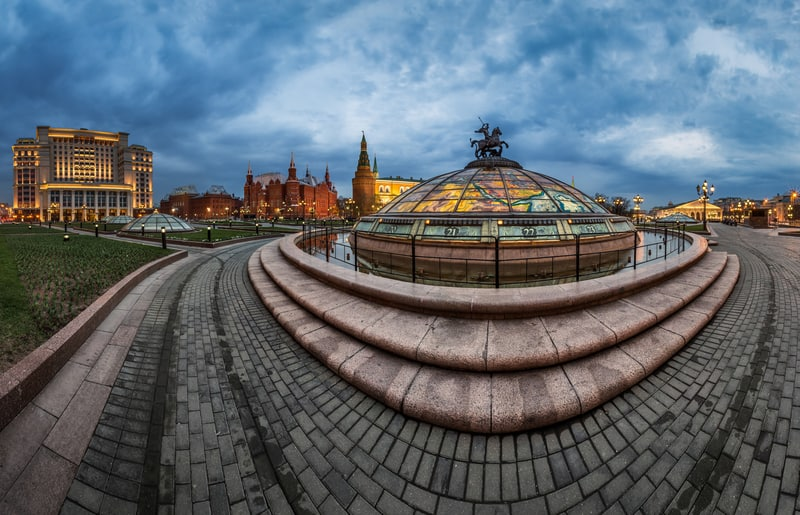 MANEGE MEYDANI Moskova