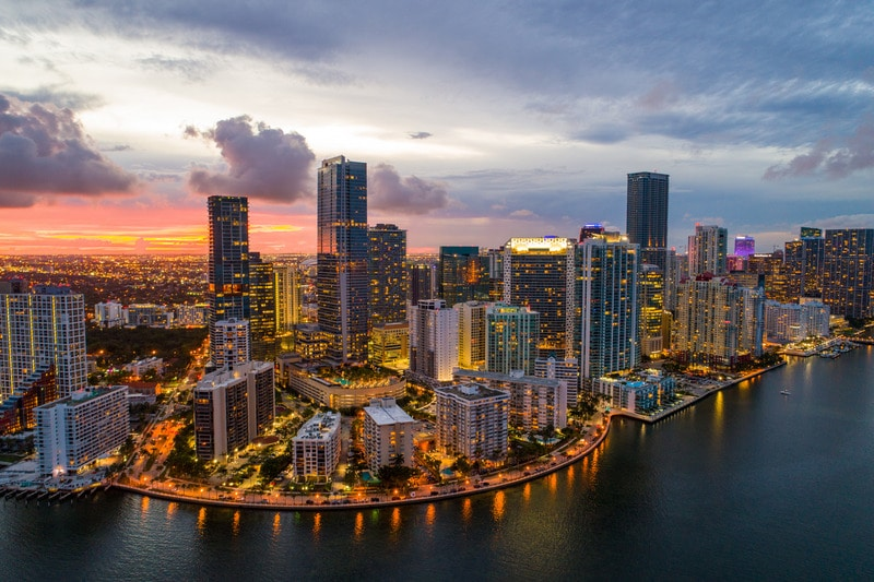 Brickell Bölgesi Miami
