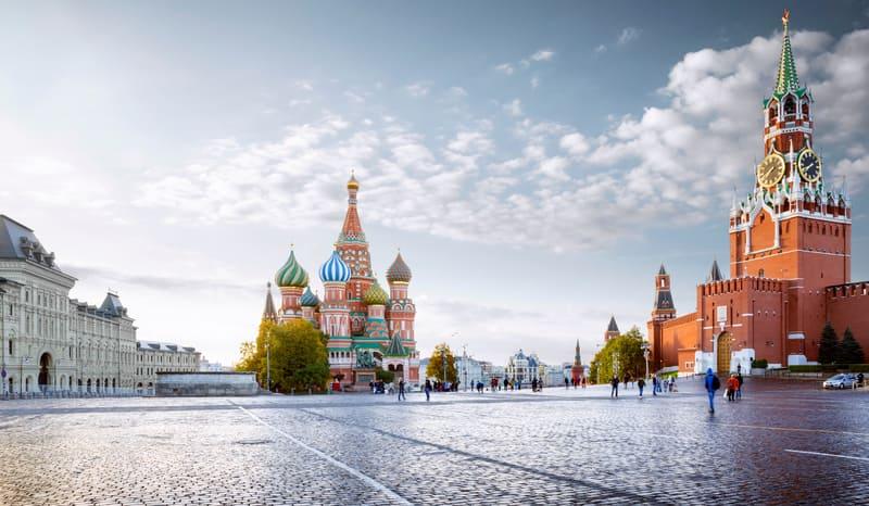 Kızıl Meydan Moskova