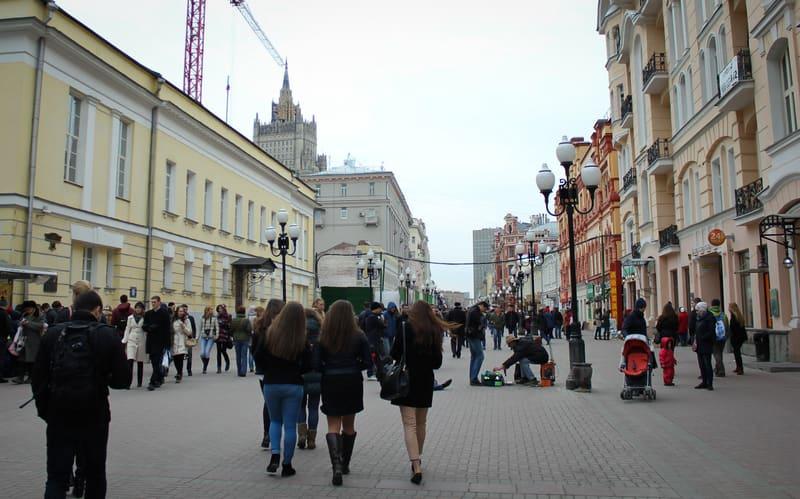 Arbat Caddesi - Moskova