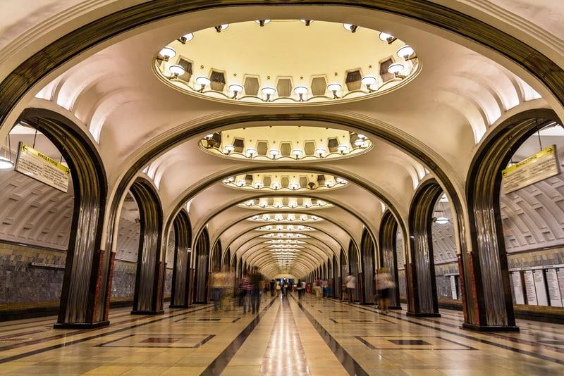 Moskova Metro istasyonu