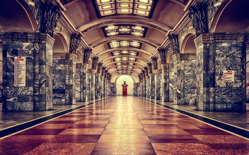 Moskova Gezilecek Yerler Moskova Metrosu