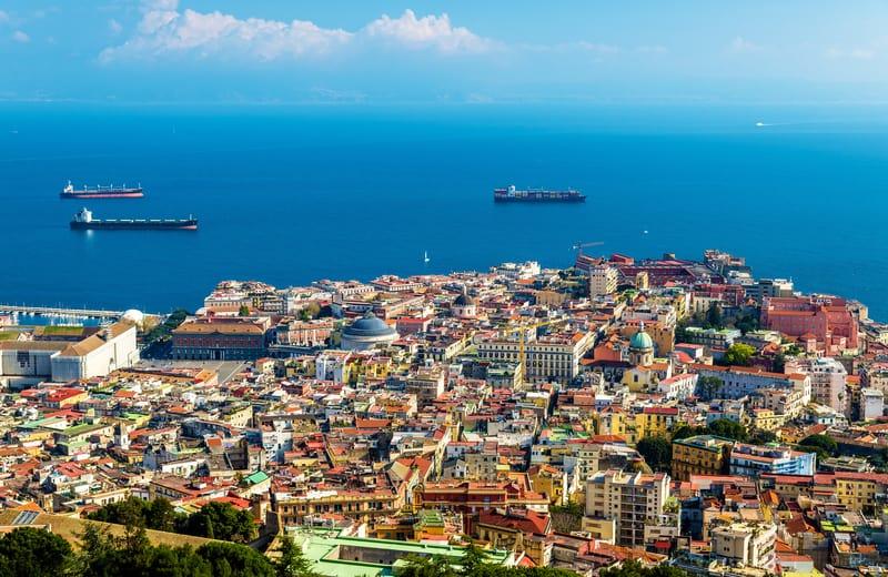 Tarihi Şehir Merkezi Napoli