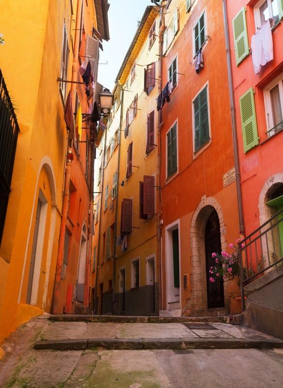 Nice Eski Şehir Bölgesi