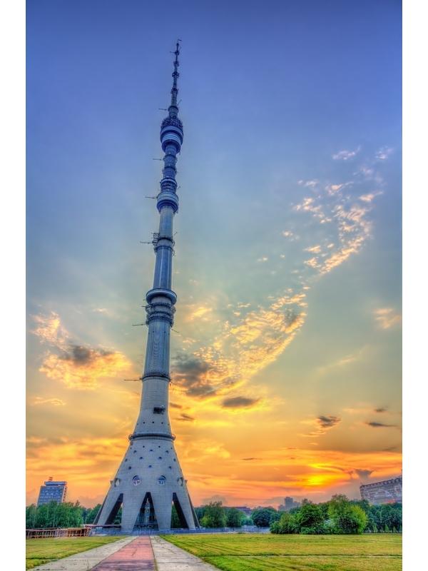 Ostankino Televizyon Kulesi Moskova