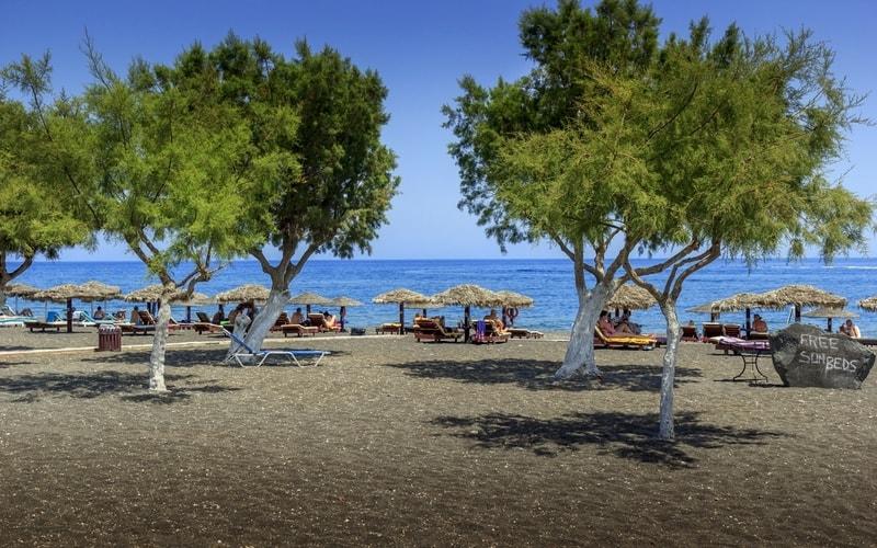 Perissa Plajı
