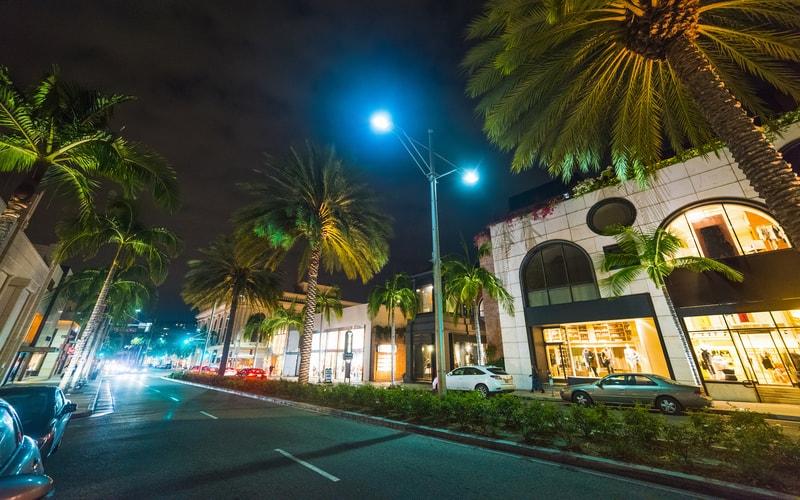 Rodeo Drive - Los Angeles Gezilecek Yerler Listesi