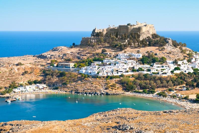 Lindos Bölgesi Rodos'ta Nerede Kalınır ?