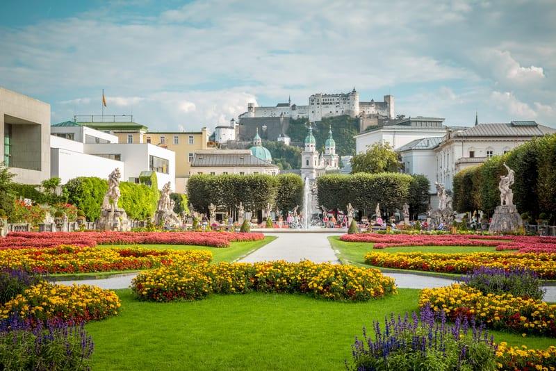 Altstadt Bölgesi Salzburg