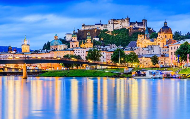 Salzburg manzarası