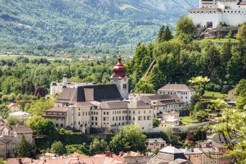 Nonnberg Manastırı Salzburg