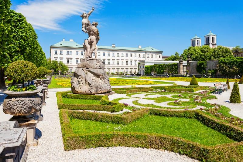 Mirabell Sarayı Salzburg