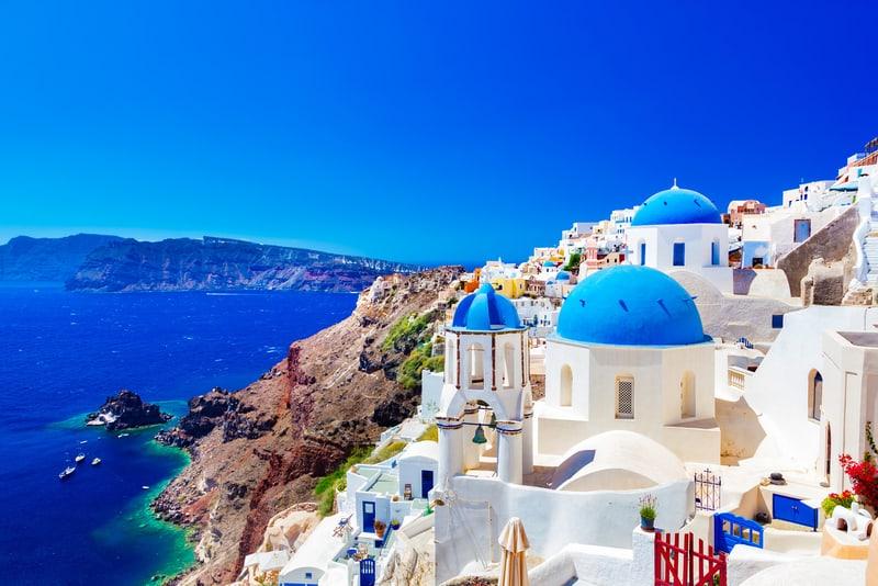 Oia Bölgesi - Santorini'de nerede kalınır ?