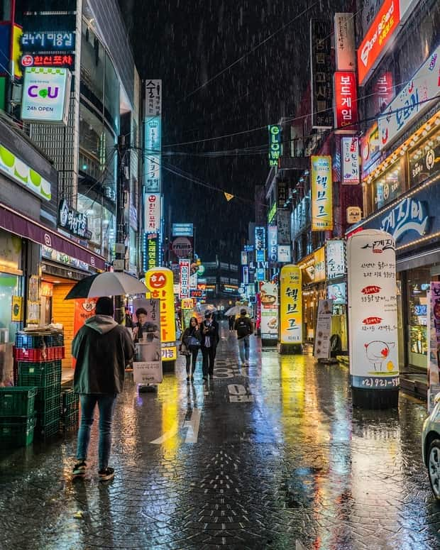 Hongdae Bölgesi