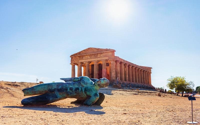 Sicilya Tapınaklar Vadisi