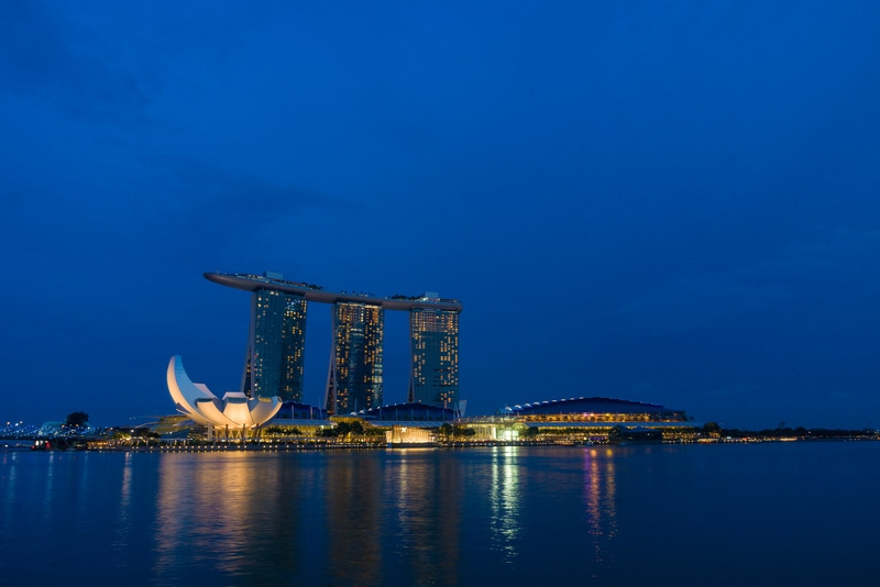 Marina Bay Bölgesi Singapur
