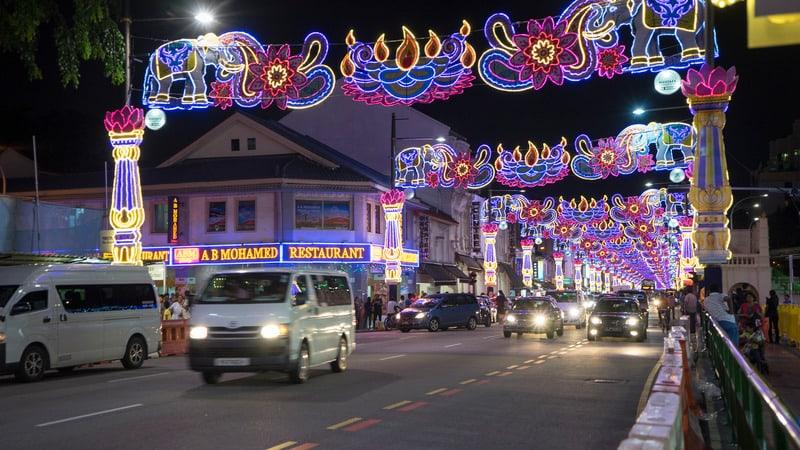 Little İndia Bölgesi Singapur